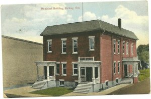 RODNEY , Ontario , Canada , PU-1920 ; Municipal Building