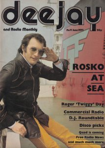 Roger Twiggy Day The Launch of Quadrophonic Radio DJ Magazine
