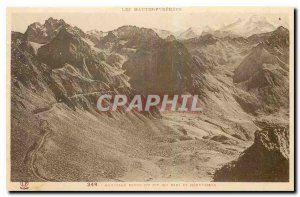 Old Postcard New Pic du Midi Road and Nouvielie