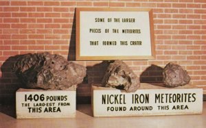 Meteorites from the Great Meteor Crater , Arizona , 1950-60s ; RT 66 / Route 66