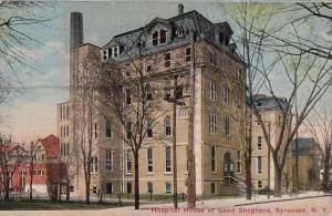 Hospital House Of Good Shepherd Syracuse New York 1916