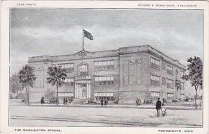 PORTSMOUTH, Ohio, 1910-1920s; The Washington School