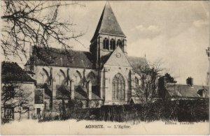 CPA AGNETZ - L'Église (130495)