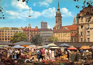 Viktaulienmarkt Munchen Germany 1971