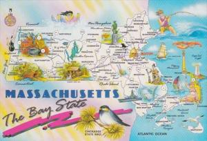 Map Of Massachusetts The Bay State