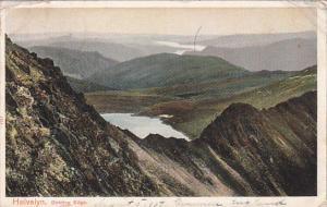 Helvellyn , England , PU-1907 :  Striding Edge