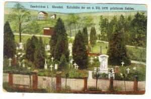 Saarbrucken I. Ehrental. Ruheitatte der am 6 VIII 1870 gefallenen Helden,Saar...