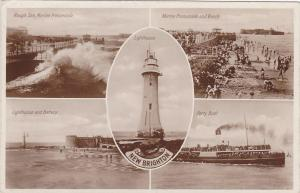 RP; NEW BRIGHTON , UK , 1934s , Ferry , Lighthouse