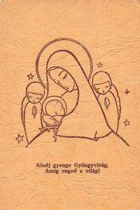 Aludj gyenge Gyongyvirag, Amig enged a vilag! Religion