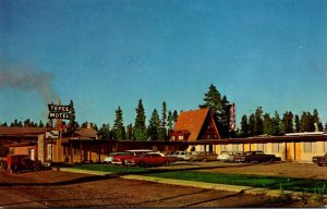 Montana West Yellowstone Tepee Lodge Motel