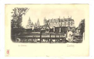 Loches , Indre-et-Loire department , France. 1890s ; Le Chateau
