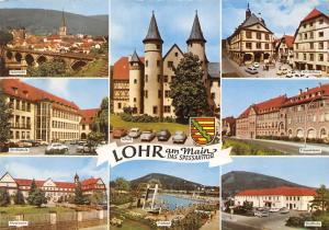 Lohr am Main Das Spessarttor, Schloss Freibad Stadthalle Am Rathaus Aloysianum