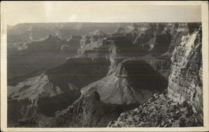 Unidentified Grand Canyon AZ c1915 Real Photo Postcard