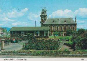 Wigtown Scottish Town Hall Postcard