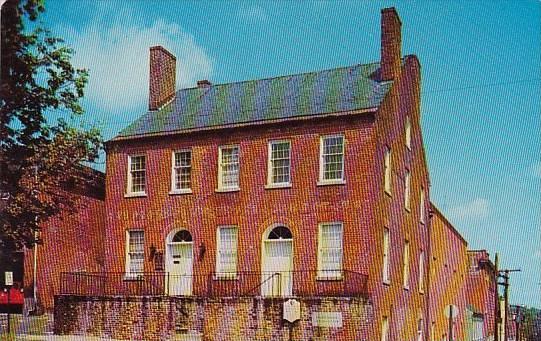 Washingtons Masonic Mother Lodge Fredericksburg Virginia