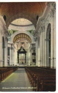 MONTREAL, Quebec, Canada, 1900-1910´s; St. James Cathedral Interior