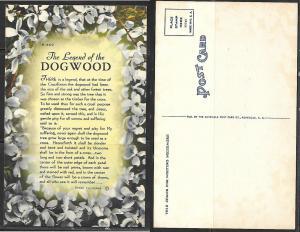 Legend of the Dogwood Christian postcard