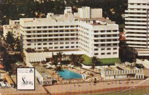 The Sans Souei Hotel Pool Miami Beach Florida 1956