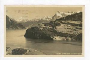 RP  Urner-See und Seelisberg, Switzerland, PU 1919