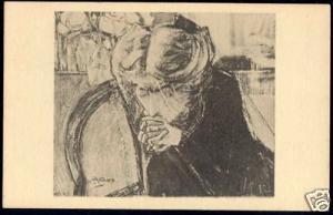 Dutch Symbolist JAN TOOROP - The Prayer (1925)