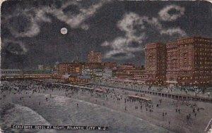 Chalfonte Hotel At Night Atlantic City New Jersey 1917