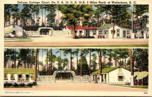 South Carolina Walterboro DeLuxe Cottage Court