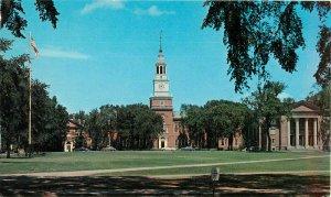 Postcard Baker Memorial Library, Dartmouth College, Hanover, New Hampshire