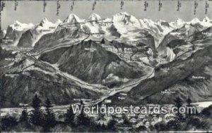 Bonigen, Rugen Interlaken Swizerland Unused