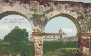 OCEANSIDE , California , 1900-10s; San Luis Rey Mission
