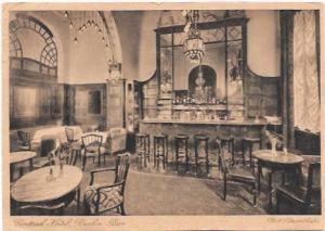 Berlin Central Hotel Berlin, Bar.  1930