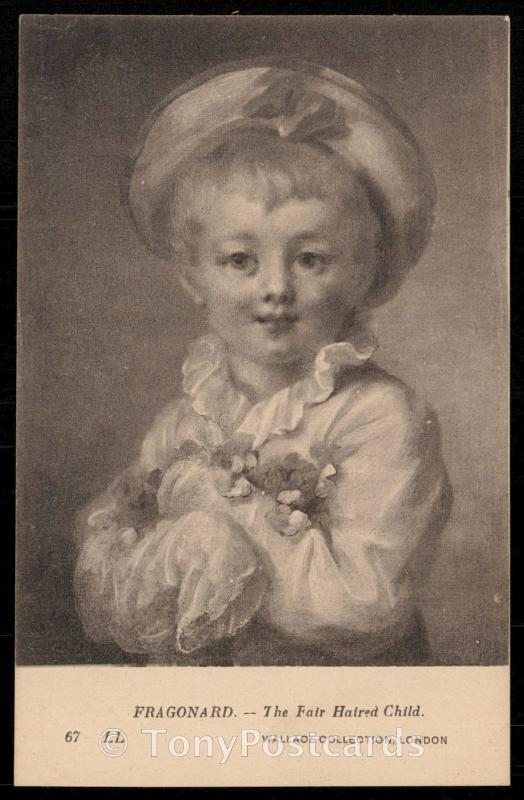 Fragonard - The Fair Haired Child