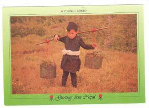A young Jyapu Farmer. NEPAL , 70-80s