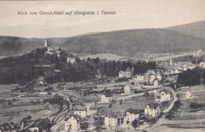 Blick vom Grand-Hotel auf Konigstein i. Taunus , Germany , 00-10s