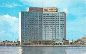 Atlantic Coast Line RR Building St Johns River Jacksonville FL Chrome Postcard