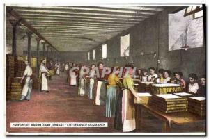 Old Postcard Collection Parfumerie Bruno Court Grasse jasmine Enfleurage