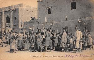 Mali Tombouctou, Moussos pilant du Ble 1922