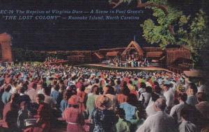 The Baptism Of Virginia Dare Roanoke Island North Carolina
