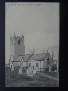 Somerset WOOLAVINGTON St. Mary's Church - Old Postcard by C.A.S.Co.