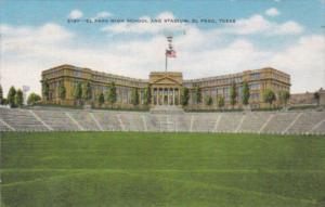 Texas El Paso High School and Stadium 1951