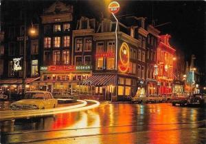 Netherlands Amsterdam Hoek Rembrandtplein Thorbeckeplein, Bar Riche Bodega Cars