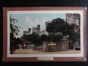 North Wales CONWAY CASTLE c1905 Old Postcard