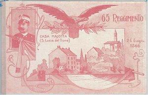 60543  CARTONCINO d'Epoca - L'AQUILA provincia: St. LUCIA del Tione REGGIMENTALE