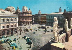 Italy Genova Piazza de Ferrari