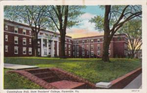 Virginia Farmville Cunningham Hall State Teachers' College 1946 Curteich