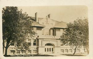 Woodbine Iowa~Normal High School~Mamie Selleck (Siler)~1910 Real Photo Postcard