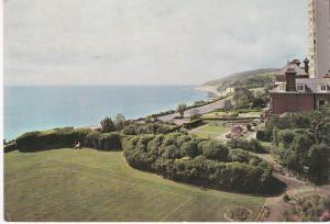 Post Card Eastbourne Beachy Head from the Hydro Hotel