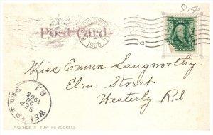 11834  DPO RF 2 Weekapaug RI 1905   CA Oakland 1904 Harbor View
