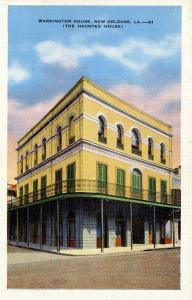 LA - New Orleans. Warrington House (Haunted)