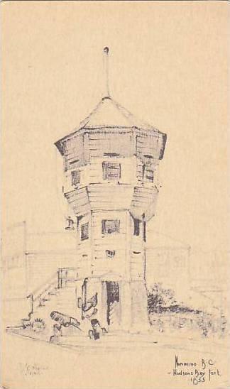 AS, Hudsons Bay Fort, Nanaimo, British Columbia, Canada, 1900-1910s