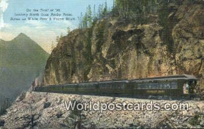 White Pass, Yukon Route Canada, du Canada Trail of '98, Rocky Point White Pas...